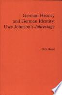 German History and German Identity