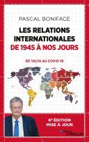 Pdf Les relations internationales de 1945 à nos jours Telecharger