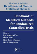Handbook of Statistical Methods for Randomized Controlled Trials