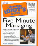 The Complete Idiot s Guide to Five minute Managing