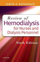 Review of Hemodialysis for Nurses and Dialysis Personnel Book