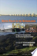 Water Policy in the Netherlands Book