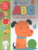 Sticker Books My First ABC Activity Book