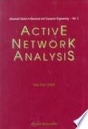 Active Network Analysis