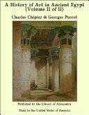 A History of Art in Ancient Egypt (Volume II of II) Pdf/ePub eBook