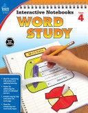 Interactive Notebooks Word Study  Grade 4