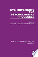 Eye Movements and Psychological Processes