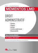 Droit administratif 2016-2017