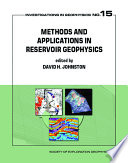 Methods And Applications In Reservoir Geophysics Book PDF