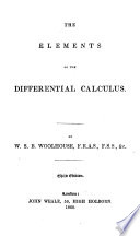 The Elements of the Differential Calculus by W  S  B  Woolhouse