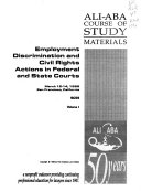 Employment Discrimination and Civil Rights Actions in Federal and State Courts