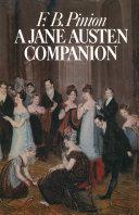 A Jane Austen Companion Pdf/ePub eBook