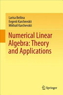 Cover image of Numerical Linear Algebra : Theory and Applications