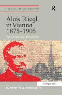 Alois Riegl in Vienna 1875?905