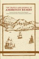 The Travels and Journal of Ambrosio Bembo Pdf/ePub eBook