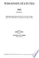 Wisconsin Statutes 1961