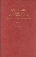 Language  Reality  and Analysis