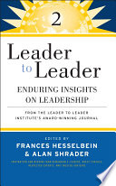 Leader to Leader 2 Book