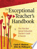 The Exceptional Teacher s Handbook Book