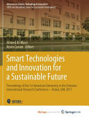Smart Technologies and Innovation for a Sustainable Future