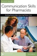 Communication Skills for Pharmacists