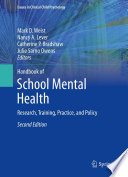 Handbook Of School Mental Health