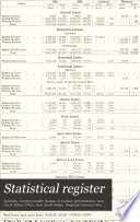 Statistical Register Book