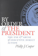 By Order of the President Book