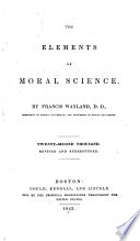The Elements of Moral Science Book