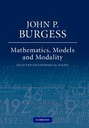 Mathematics  Models  and Modality