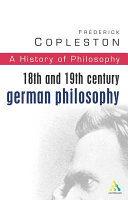 18th and 19th Century German Philosophy