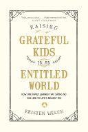 Raising Grateful Kids in an Entitled World Pdf/ePub eBook