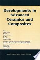Developments in Advanced Ceramics and Composites