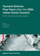 Tsunami Science Four Years After the 2004 Indian Ocean Tsunami [Pdf/ePub] eBook
