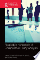 Routledge Handbook of Comparative Policy Analysis