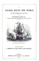 A voyage round the world  in the years 1740  41  42  43  44  compiled by R  Walter