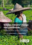 Gender  Climate Change and Livelihoods