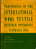 Proceedings: Chemical physics and physical chemistry of wool and proteins