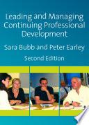 Leading   Managing Continuing Professional Development