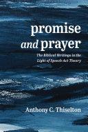 Promise and Prayer [Pdf/ePub] eBook