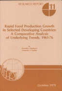 Rapid Food Production Growth in Selected Developing Countries
