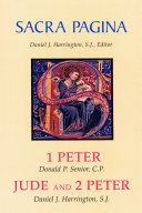 Sacra Pagina  1 Peter  Jude and 2 Peter
