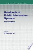 Handbook of Public Information Systems Book