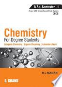 Chemistry for Degree Students B.Sc. Semester - I (As per CBCS)