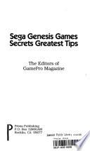 Sega Genesis Game Secrets Greatest Tips