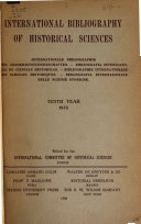 International Bibliography of Historical Sciences Book PDF