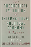 The Theoretical Evolution of International Political Economy