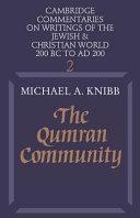The Qumran Community