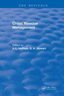 Crops Residue Management Pdf/ePub eBook