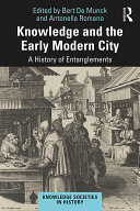 Pdf Knowledge and the Early Modern City Telecharger